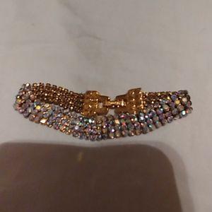Swarvorski AB Crystal vintage bracelet